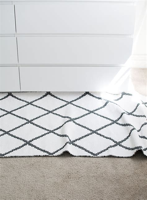 keep rug in place on carpet how to keep a rug from slipping homey oh my