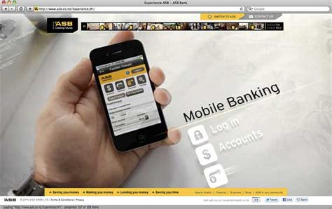 asb bank website asb bank experience website mobile banking the financial