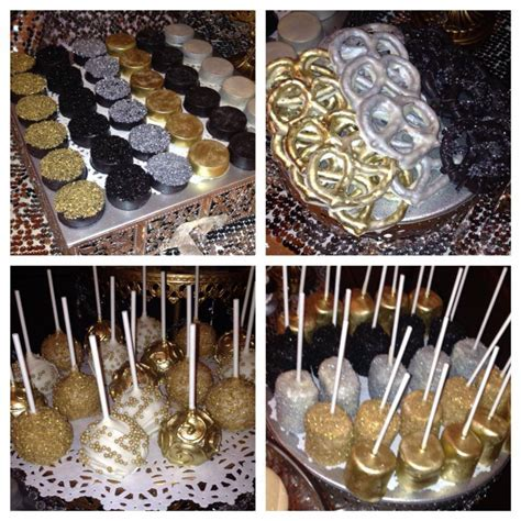 Harlem Nights/Roaring 20's/Great Gatsby inspired sweets