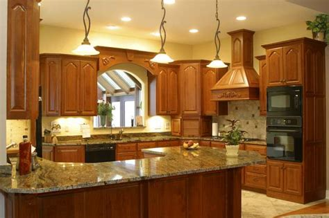 Golden Kitchen by Golden Granite Slab