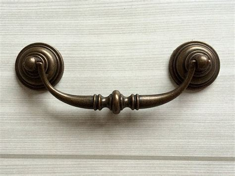Hardware Knobs For Dressers by 4 1 4 Quot Dresser Pulls Drawer Pull Handles Antique Bronze