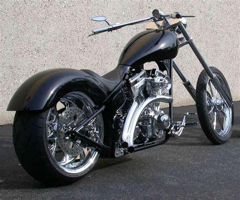 Chopper Motorrad Schwarz by Black Custom Chopper Wallpaper