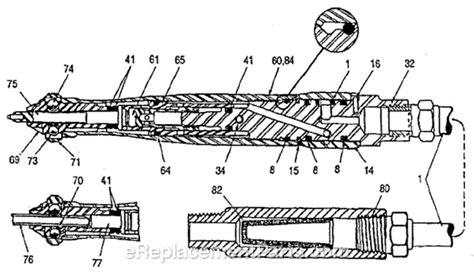 Chicago Pneumatic Cp9361 1 Parts List And Diagram