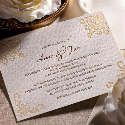 Text Hochzeitseinladung by Letterpress Hochzeitseinladung Quot Chateau Quot Weddix De