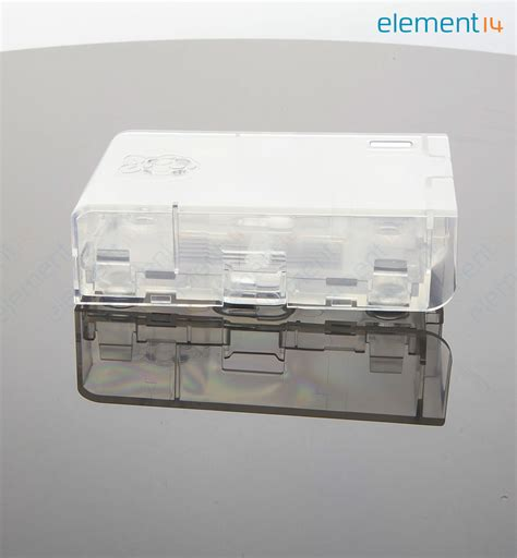 mc rp001 clr multicomp dev board enclosure raspberry pi abs transparent element14 singapore