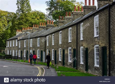 buy house in cambridge terraced houses in park street cambridge in the autumn sunlight stock photo royalty