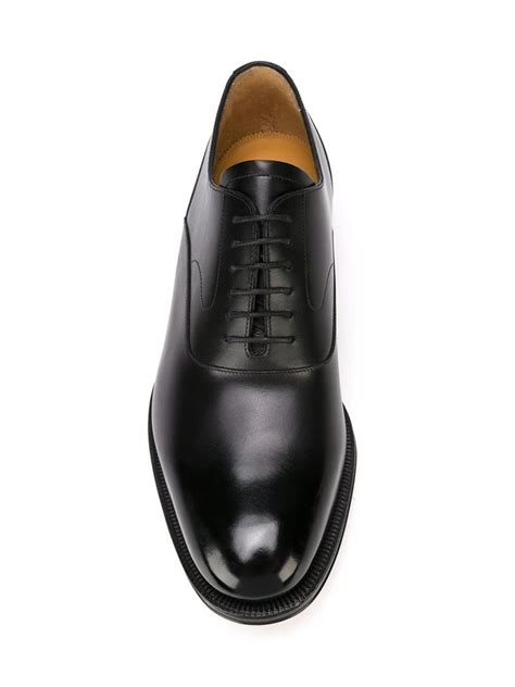 valentino oxford shoes lyst valentino classic oxford shoes in black for