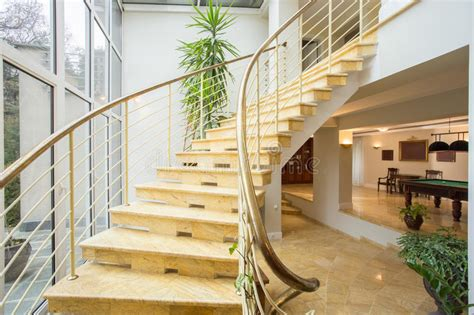 www home design gallery saida marble stairs inside expensive house stock photo image