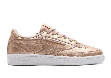 Reebok Classic Gold by Reebok Classic Leather Club C Metallic Gold Pack Sneaker
