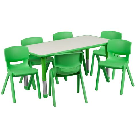 preschool table and chairs daycare tables and preschool table and chair sets at