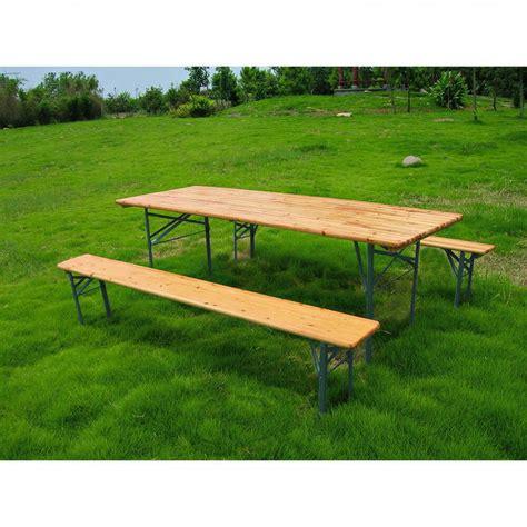tavoli e panche set birreria in legno rettangolare con tavolo e panche