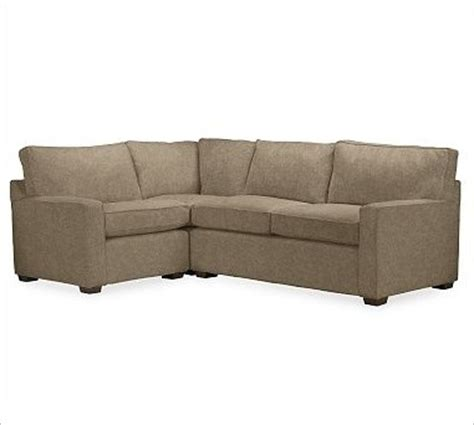 small 3 piece sectional sofa pb square right 3 piece small sectional polyester wrap