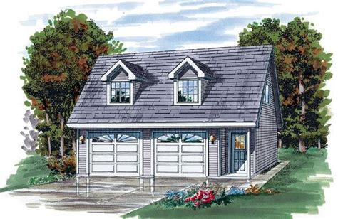 Cape Cod Garage by Cape Cod Garage Plan 55541