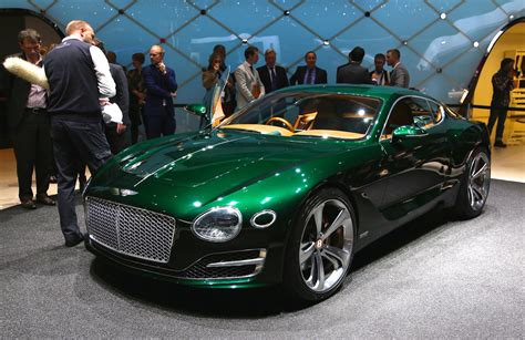 green bentley convertible bentley to be fourth vw brand to offer electric car