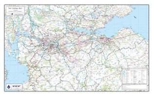 map central scotland ireland map