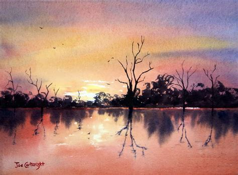 free watercolor painting landscape demonstrations how to watercolour
