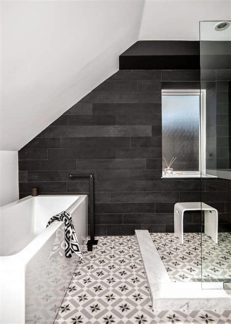 white cement for bathroom tiles 6 ways to decorate with black walls cococozy
