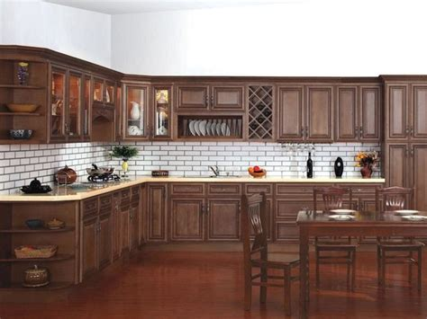 Chocolate Kitchen Cabinets Kitchen Cabinets Chocolate Glaze Quicua