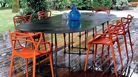 kartell masters plastic chair dining room furniture outdoor contemporary furniture
