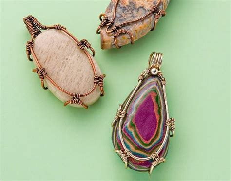 stones to make jewelry 6 ways to alter wire for more interesting wire jewelry