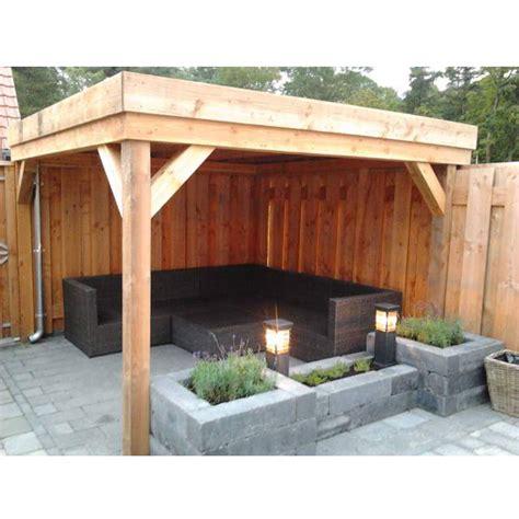 veranda zelfbouw douglas veranda 300x400cm stange houthandel