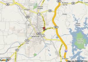 map of cartersville knights inn cartersville