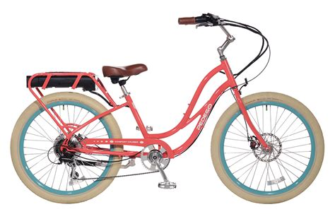 pedego comfort cruiser electric bikes pedego step thru comfort cruiser