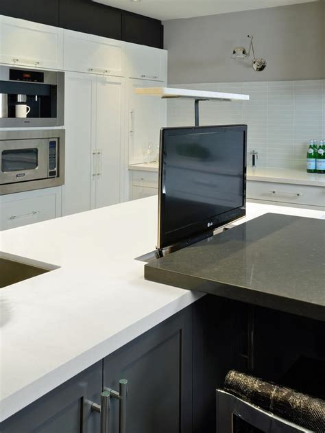 Countertop Tv by 20 Ready Kitchens Page 11 Rooms Home Garden