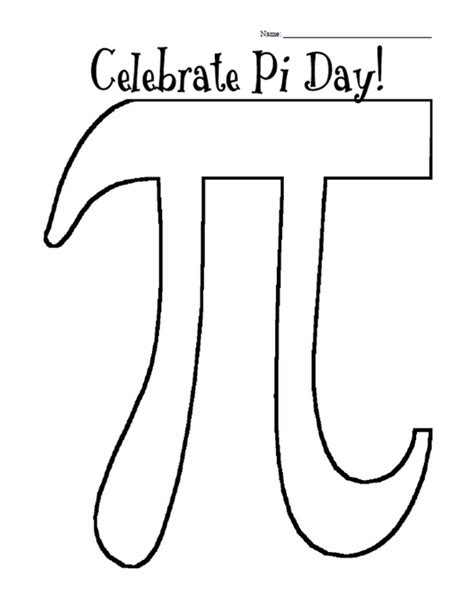 printable worksheets for pi day printable pi day coloring page coloringpagebook com