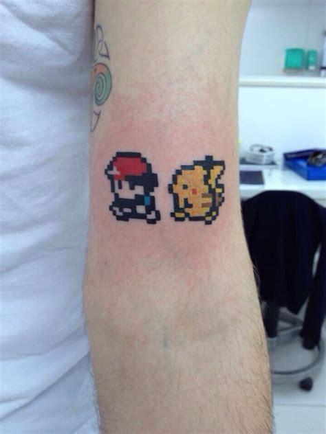 pixel tattoo pixel tattoos pixel