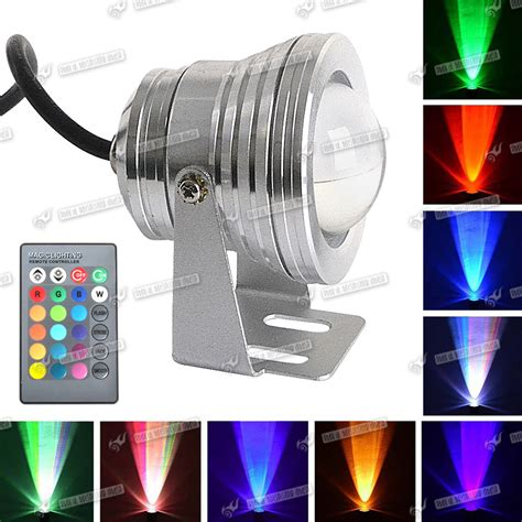 outdoor color changing led flood lights 10w waterproof rgb color changing outdoor led flood light