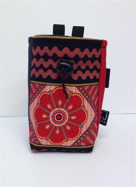Handmade Chalk Bags - floral chalk bag kendal jackson bags