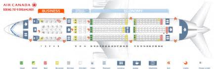 air canada seat maps seat map boeing 787 8 dreamliner air canada best seats in