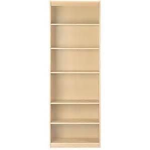Agatha Bookcase Maple Book Shelves