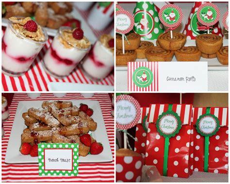 christmas inspired breakfast pole breakfast 2011