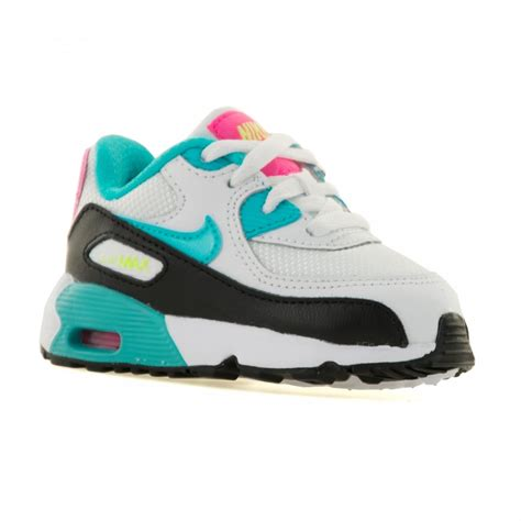 Nike Air Max 90 Whitepinkblue P 1441 by Nike Infants Air Max 90 Mesh 216 Trainers White Gamma