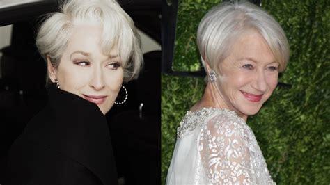 Meryl Streep Hairstyles by Helen Mirren Meryl Streep Stole My Hairstyle For The