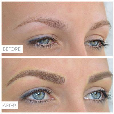 eyeliner tattoo disappeared image result for microblading brows blonde microblading