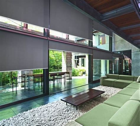 roller blinds for large windows luxaflex roller blinds with edge technology are