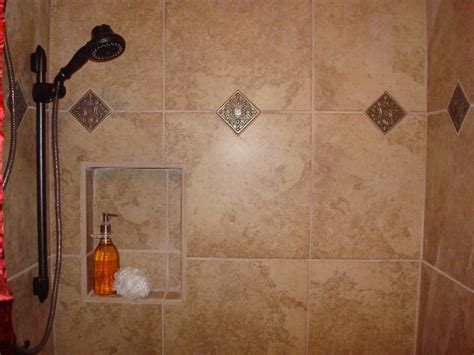 Tile Shower Inserts by How To Give Your Shower Style With Tile