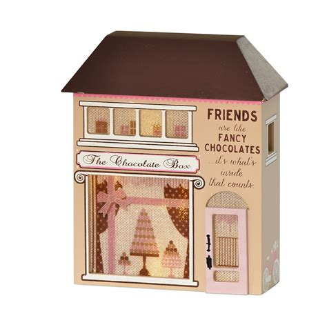 Friends Are Like Fancy Chocolates Light Up House Gift Light Up House