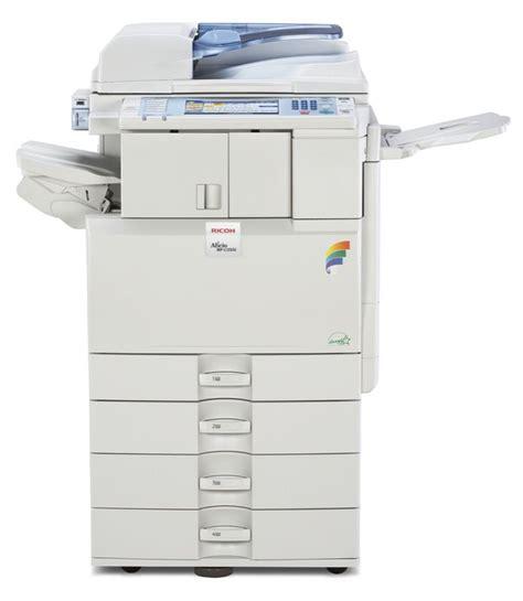 i need help printing to a ricoh aficio mp c2500 ricoh aficio mp c2551 color digital imaging system
