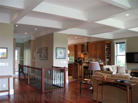 White Ceiling Beams Decorative by Faux Coffered Ceiling Pictures Beautiful Ideas For Flat
