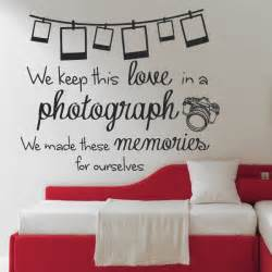 stickers on your wall ed sheeran photograph lyrics wall sticker