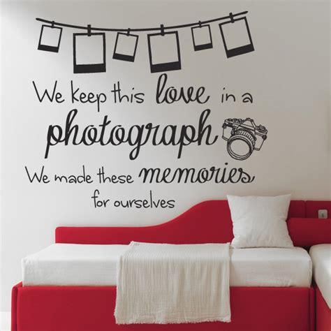 bedroom walls lyrics ed sheeran photograph lyrics quote wall sticker design 2