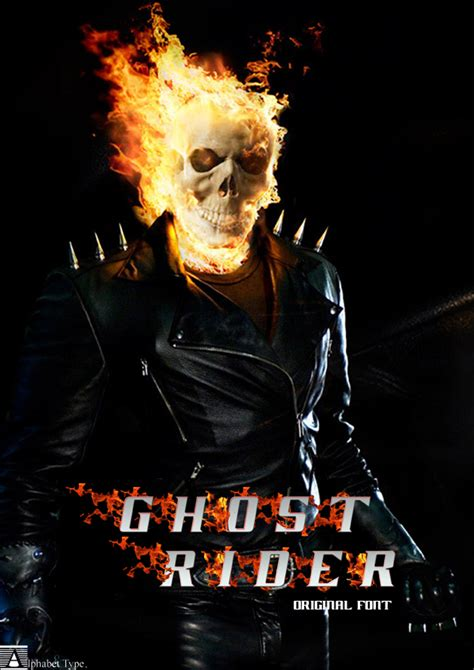 film ghost rider 1 complet en francais ghost rider movie font 1001 free fonts