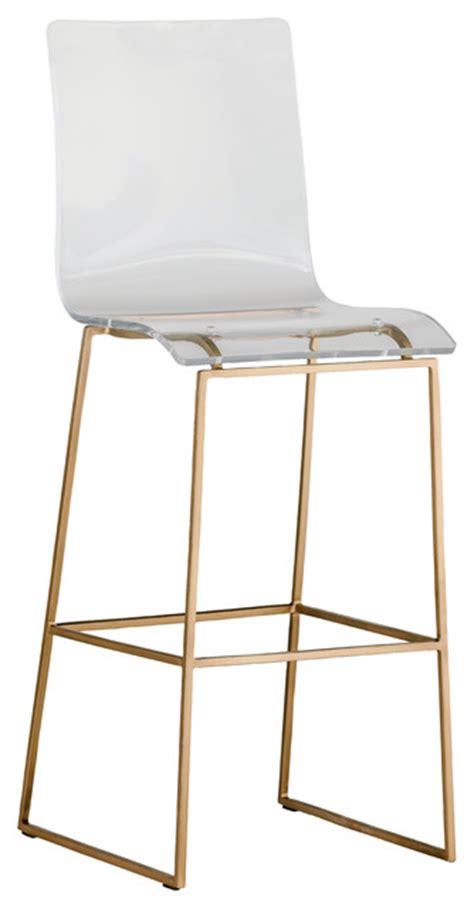 acrylic counter stools gabby king acrylic bar stool scandinavian bar stools