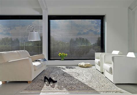 horizontale jaloezieen hout zwart horizontale jaloezie 235 n