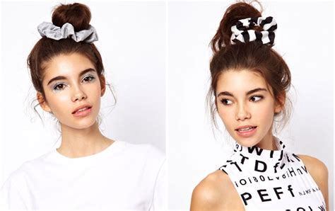 Wears A Scrunchie by Scrunchies Are A Comeback Will You Wear One