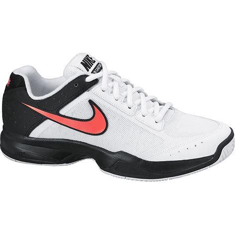 nike air cage court s tennis shoe white black